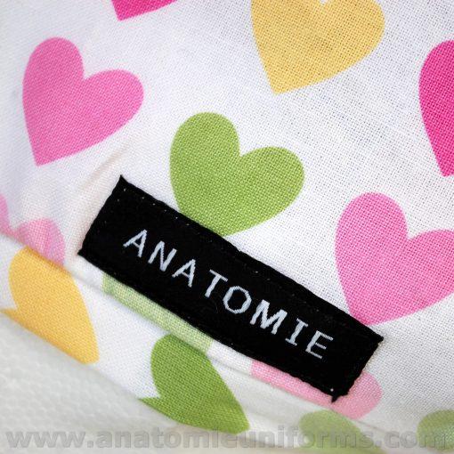 Gorros Quirofano Mujer ANATOMIE Classic Corazones ANA1058c