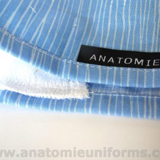 Gorros de Quirofano Lineas Azules ANA055a