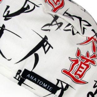 Gorros de Quirofano de tela Letras Japonesas ANA059