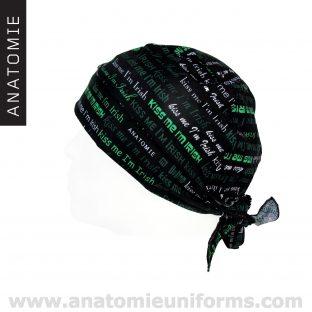 ANATOMIE BANDANA Chirurgicaux Irish - 014