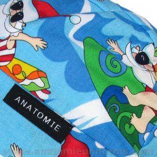 ANATOMIE BANDANA Santé Santa Claus - 011b