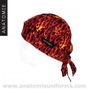 ANATOMIE BANDANA bandanas médicaux flammes - 017