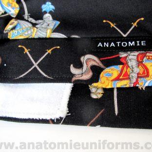ANATOMIE BANDANA chefs cuisiniers - 013c