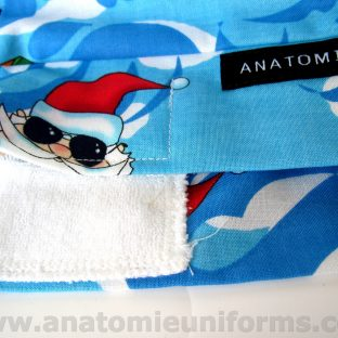 ANATOMIE BANDANA chirurgiens Santa Claus - 011c