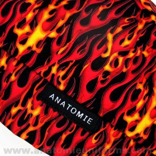 ANATOMIE BANDANA for Surgery Flames - 017d