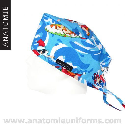 Calots Chirurgien bleus Père Noël ANA053